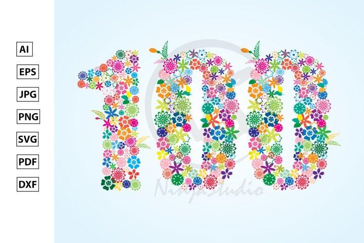 Floral Number One Hundred