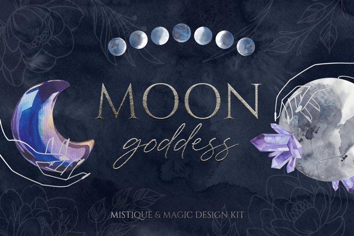 MOON GODDESS magic design kit