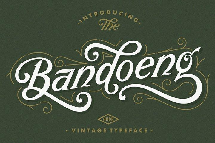 Bandoeng Font