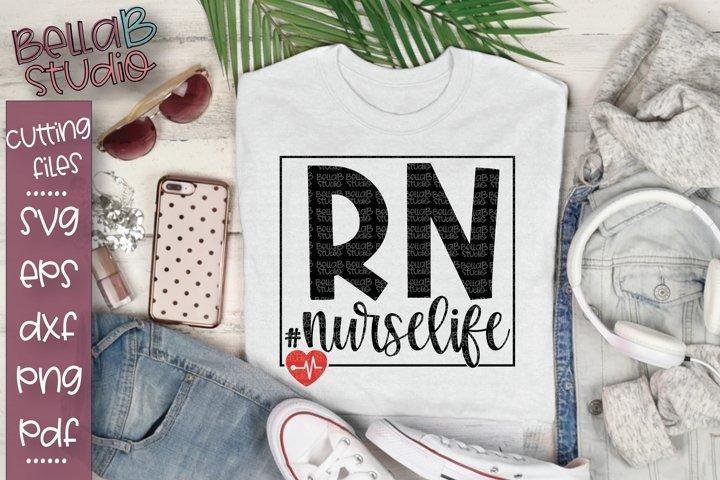 RN Nurse SVG File, Registered Nurse SVG File