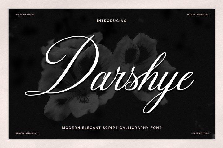 Darshye Script