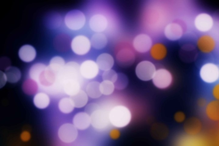 15 Bokeh Photoshop Brushes abr. - Scatter & Dynamics example 3