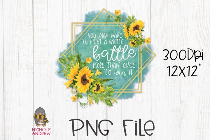 Fight A Battle More Than Once - A PNG Crafting File