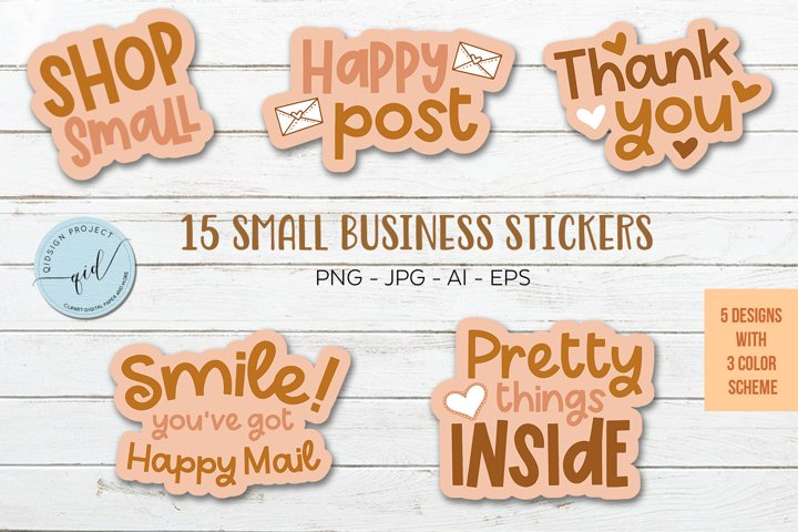 15 Small Business Packaging Stickers