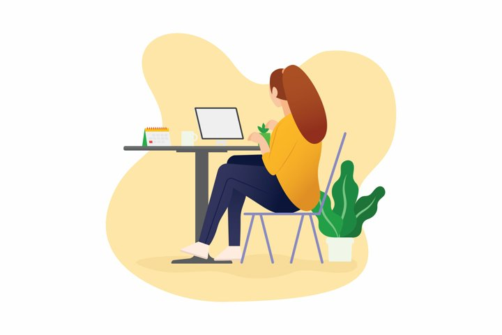Web Designer - Illustration KF