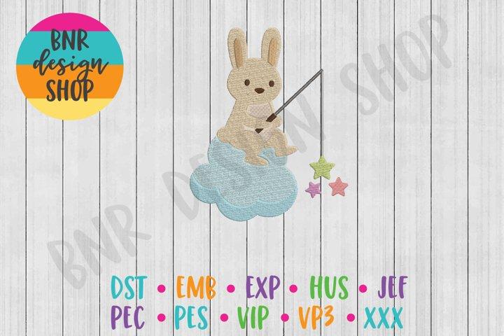 Bunny Machine Embroidery Design