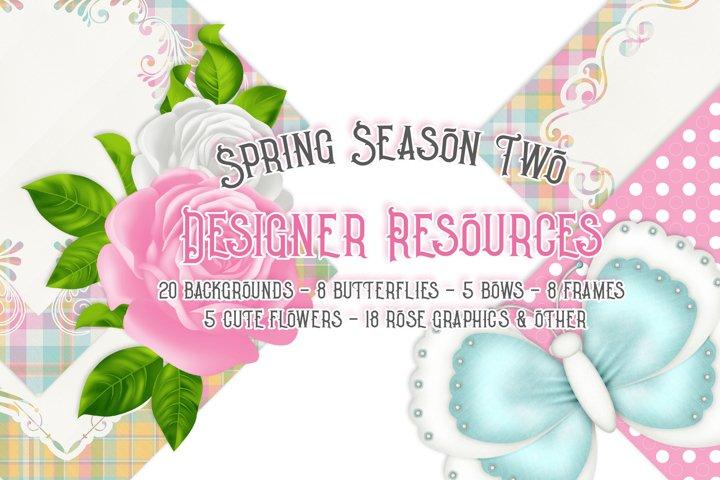 Spring Season Two - Designer Resources Bundle