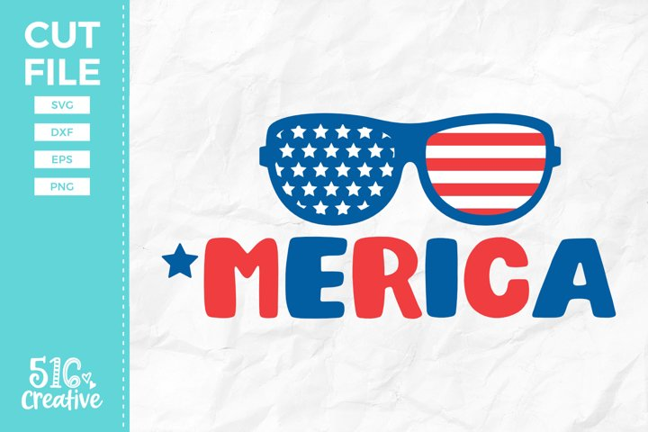 Merica SVG DXF EPS PNG