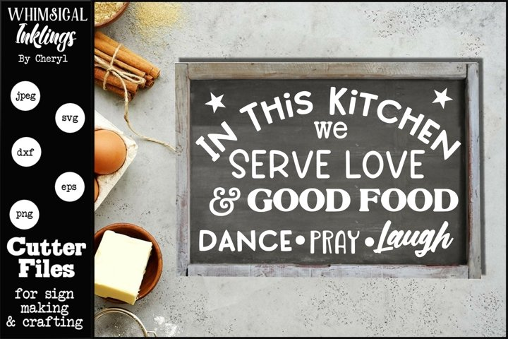 Love And Good Food-Kitchen SVG