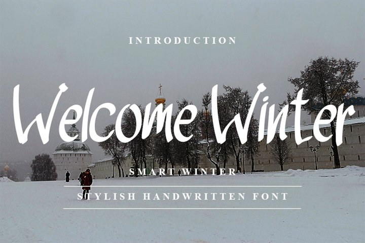 Welcome Winter - Stylish Handwritten Font