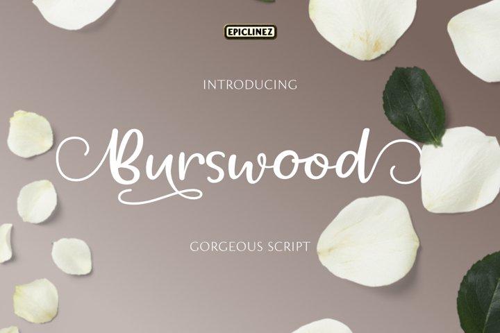 Burswood - Gorgeous Script