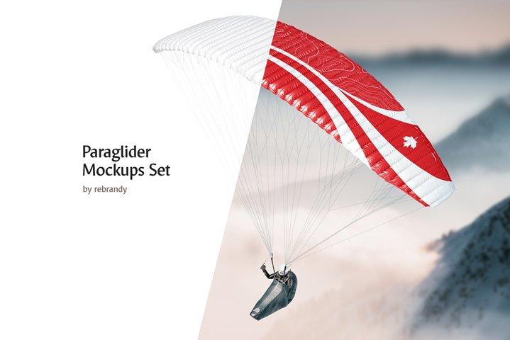 Paraglider Mockups Set
