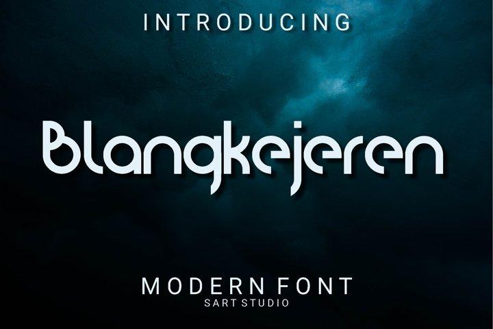 Blanquotey Modern Font