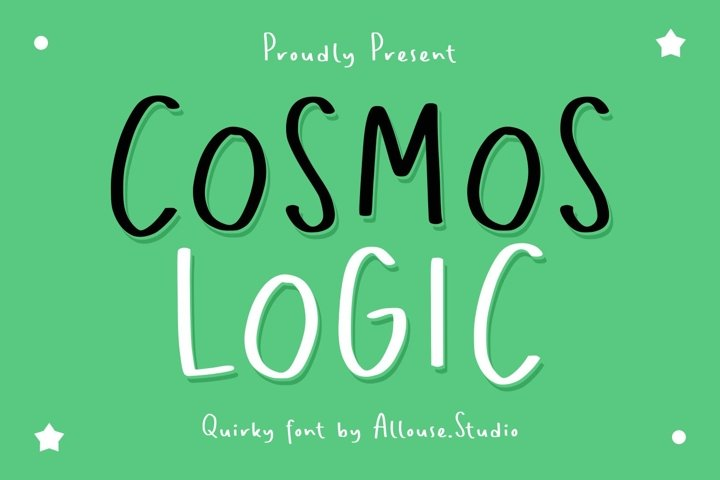 Cosmos Logic - Quirky Font