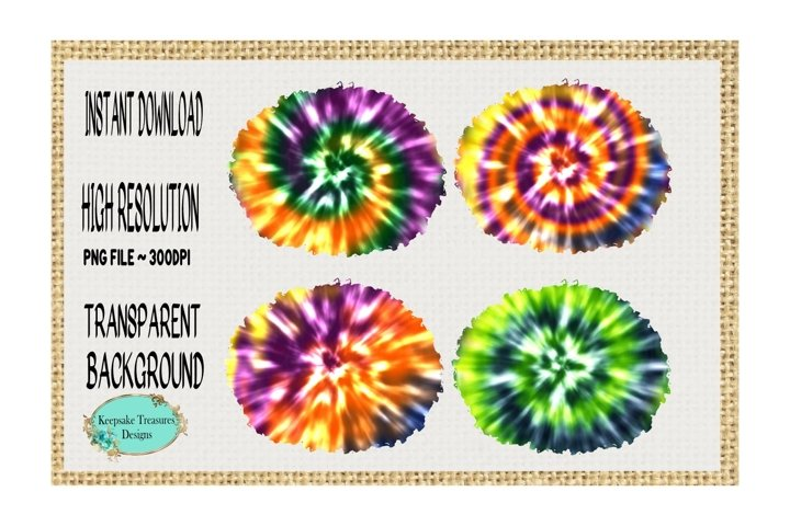 Tie Dye Background #1