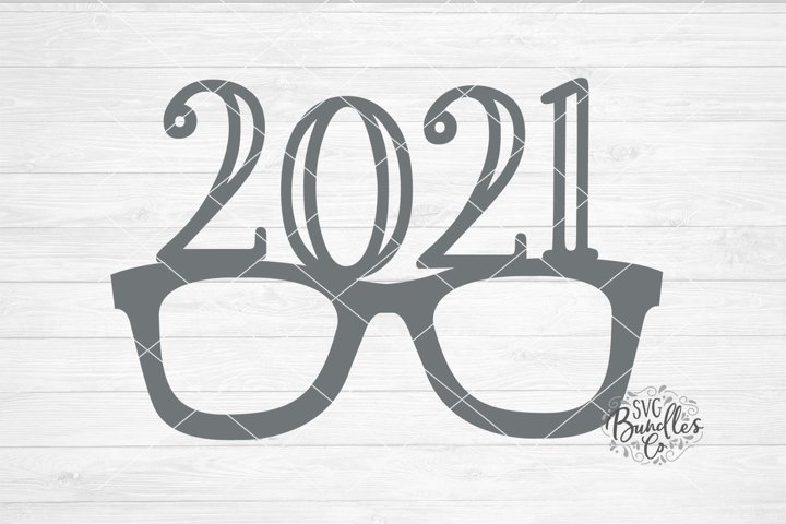 2021 Glasses Graduation/New Years- SVG DXF PNG