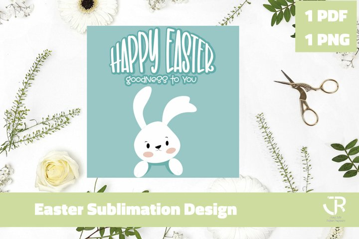 Easter Sublimation Design