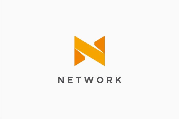 Network - Letter N Logo