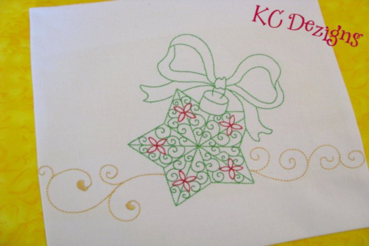 Christmas Decorations 06 Machine Embroidery Design