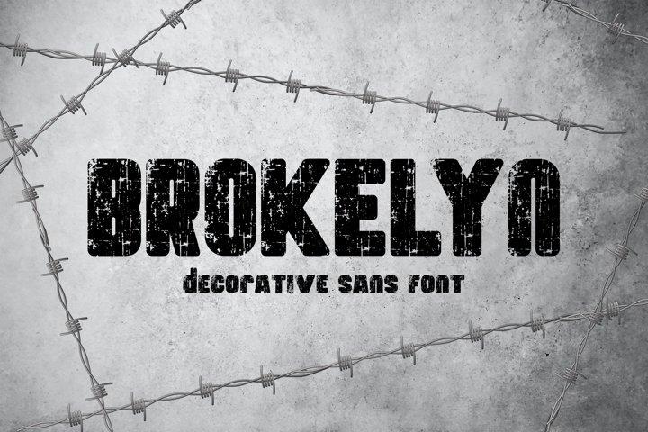 Brokelyn Font