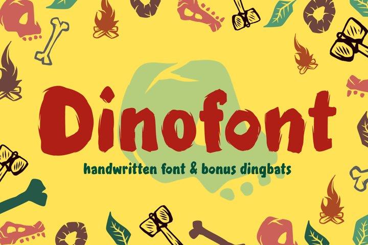 Dinofont and Dingbats