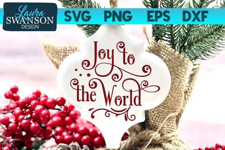Joy to the World SVG, PNG, EPS, DXF