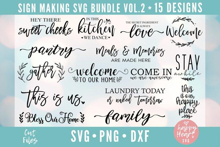 Sign Making Bundle - 15 Designs