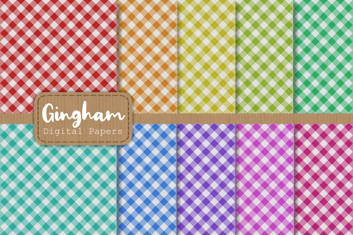 Gingham Fabric Cloth Pattern Papers