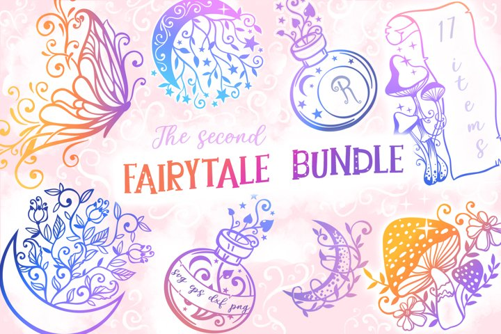 The Second Fairytale Bundle - 17 SVG cut files