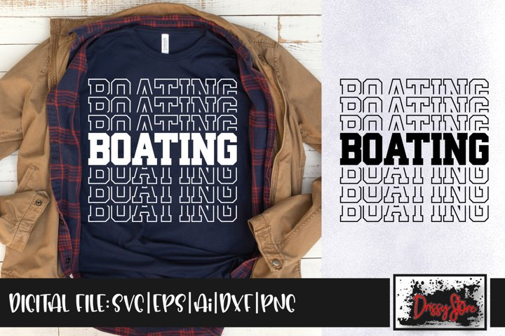 Boating SVG DXF Ai EPS PNG