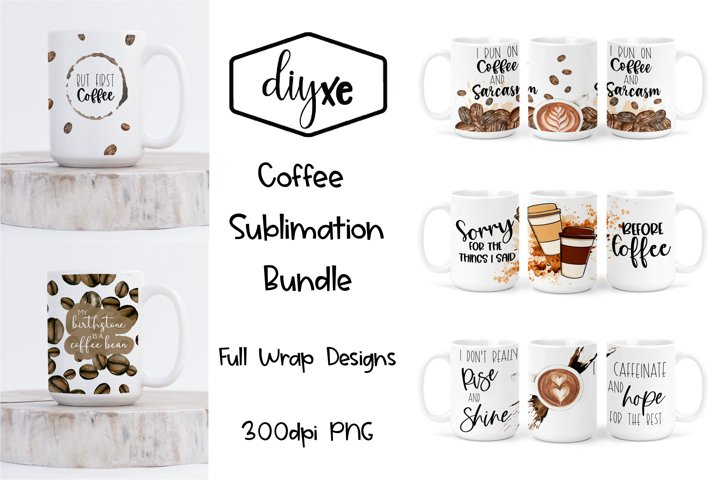 Coffee Sublimation Graphics For Ceramic Mug