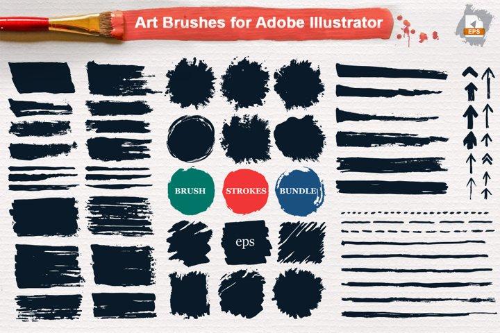 Brushes BUNDLE for Illustrsator