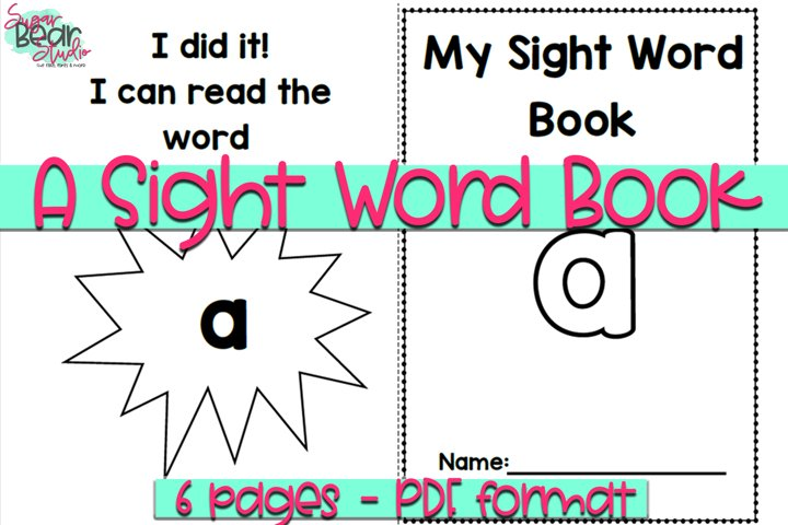 A Sight Word Book - Educational Resource