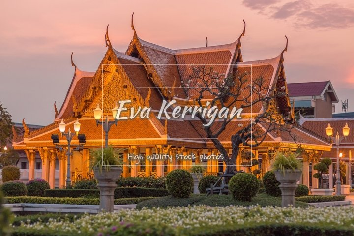 Thailand, Maha Chetsadabodin Royal Pavilion o Trimuk Palace.