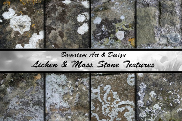 Old Stone Textures - Lichen and Moss