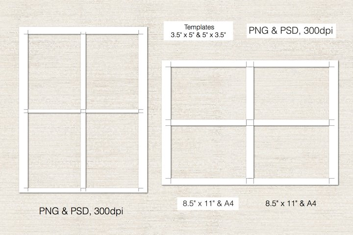 3.5 x 5 Inch RSVP Digital Template, PSD and PNG