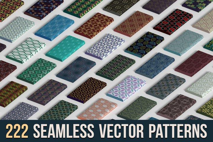 220 Seamless Vector Patterns