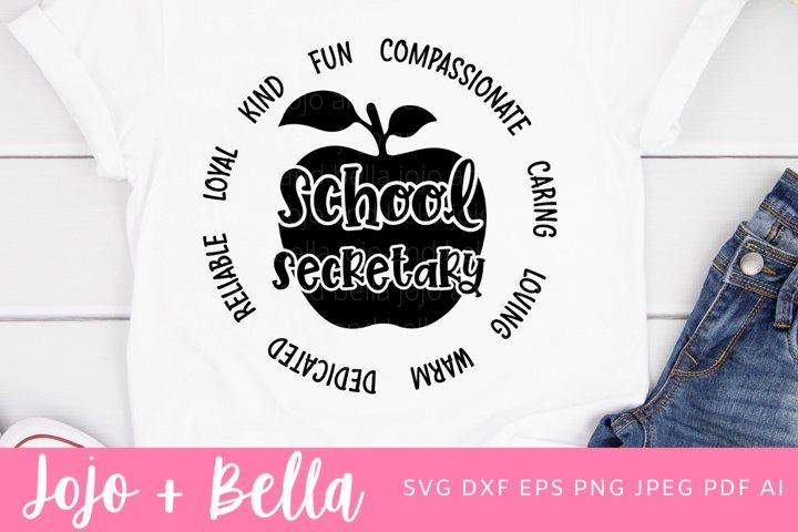School Secretary Svg | A School Svg
