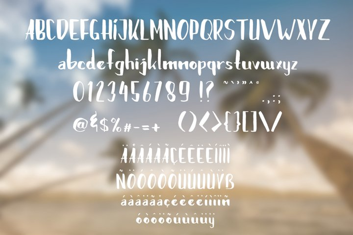 Brushylicious - Free Font of The Week Design3