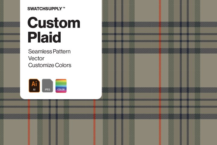 Custom Plaid Pattern
