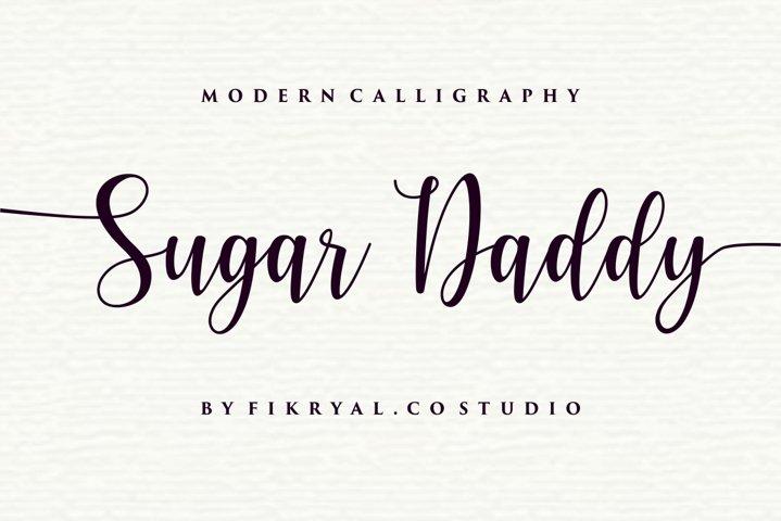 Sugar Daddy - Modern Callighraphy