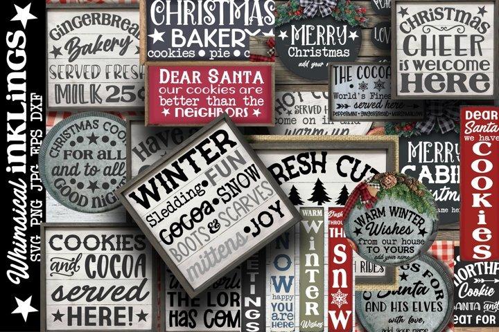 Happy Christmas Bundle-25 Designs!