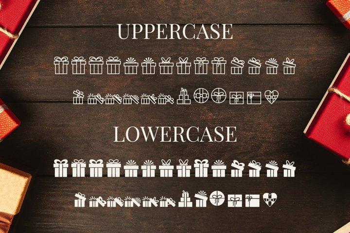 Presents - Pictorgram Font example 3