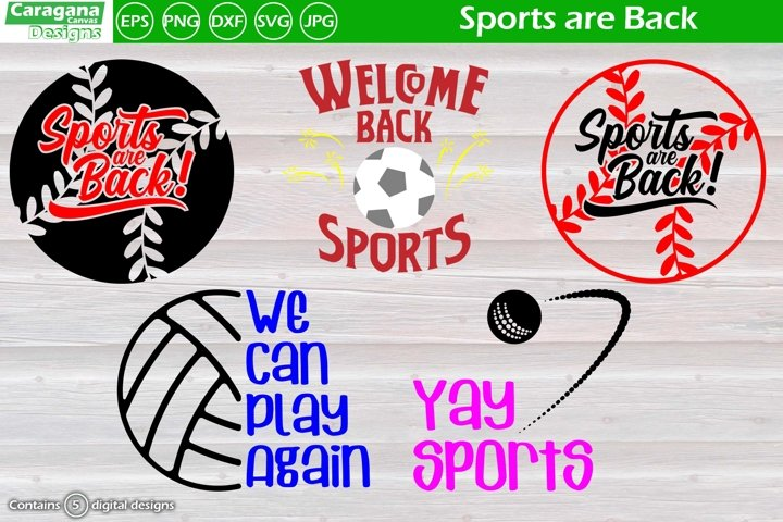 Sports are Back