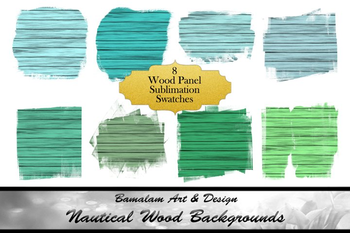 Nautical Wood Panel Swatches