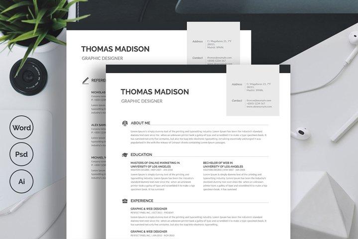 Minimalist Resume/CV Template