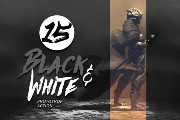 15 Black and White Photo Effect