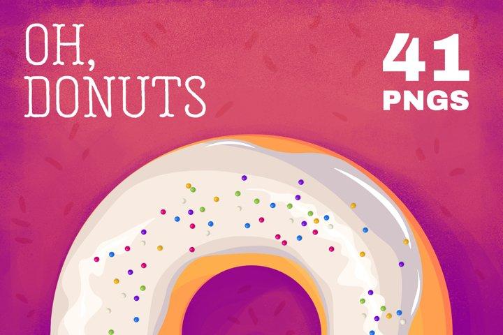 Donut PNG illustration
