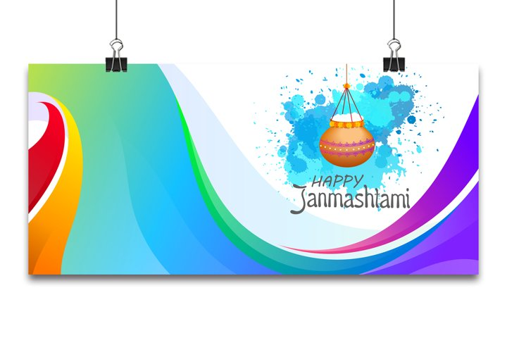 Happy Janmashtami festival of India Shri Krishan Janmashtami