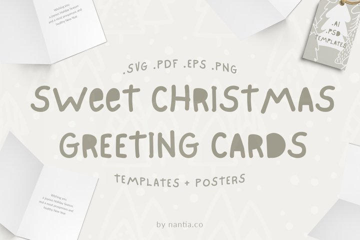 Sweet Christmas Cards & Posters